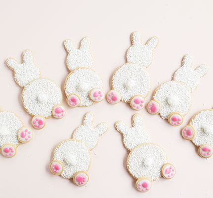 White rabbit biscuits