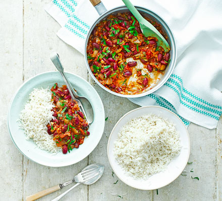 Kidney bean curry
