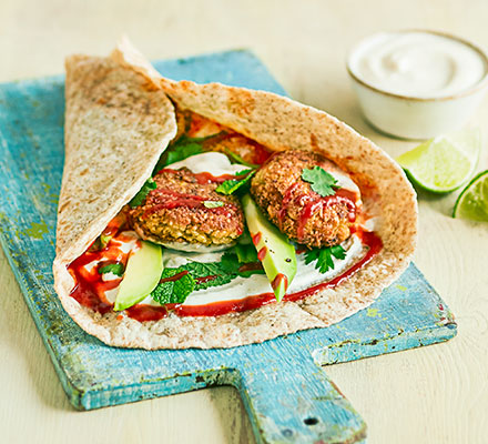 5-ingredient falafel