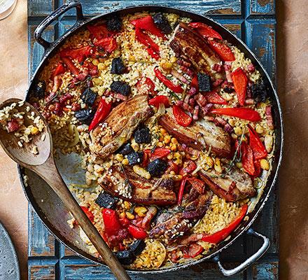 Arroz al horno (baked rice)
