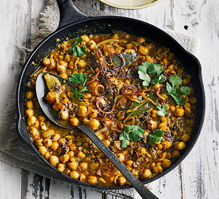Chickpea & coconut dhal