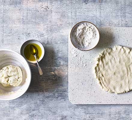 Gluten-free pizza dough