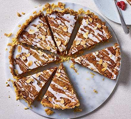 Next level bakewell tart