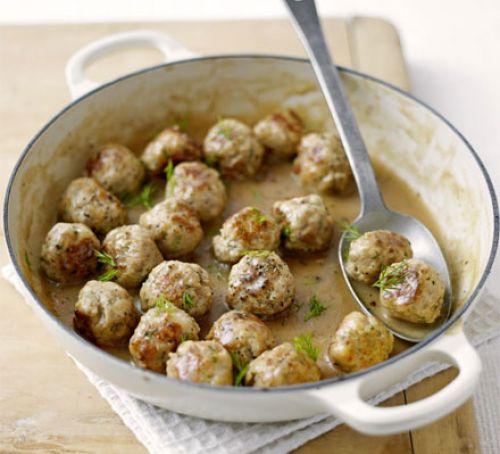 Classic Swedish meatballs