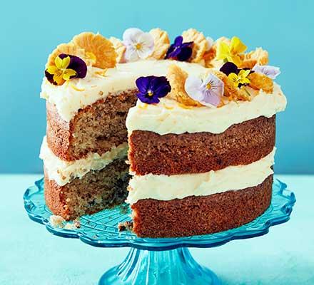 Spiced hummingbird cake