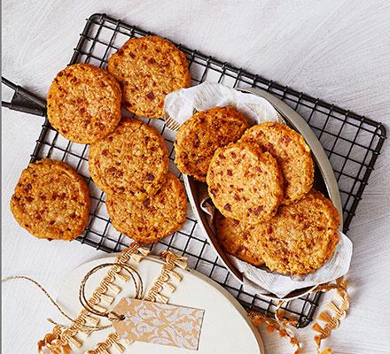 Manchego & chorizo melting biscuits