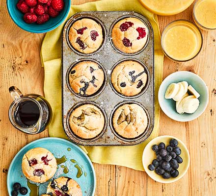 Mix & match pancake muffins