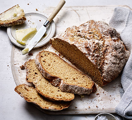 Einkorn soda bread