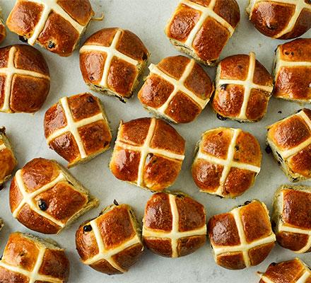 Next level hot cross buns
