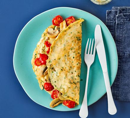 Breakfast egg wraps