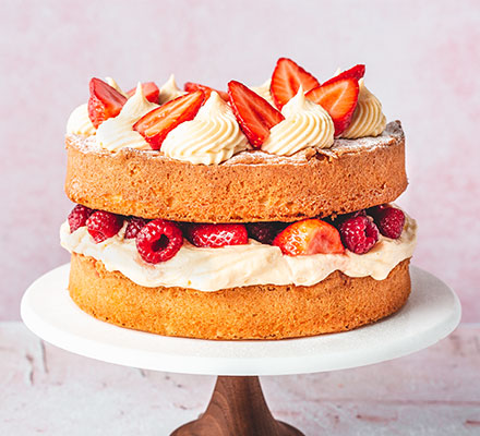 Ultimate traditional Victoria sponge