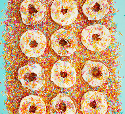 Apple 'doughnuts'