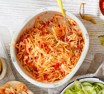 Cabbage & chilli slaw