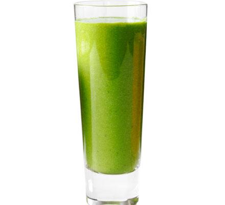 Kale and avocado smoothie