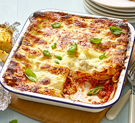 Easy classic lasagne