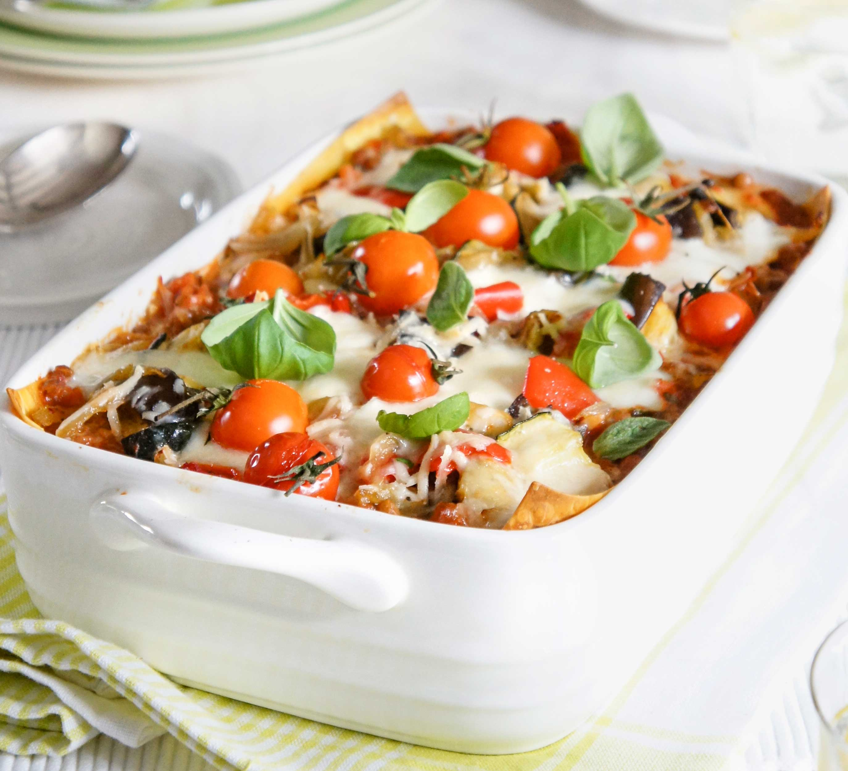Lighter Vegetable Lasagne Bbc Good Food Middle East