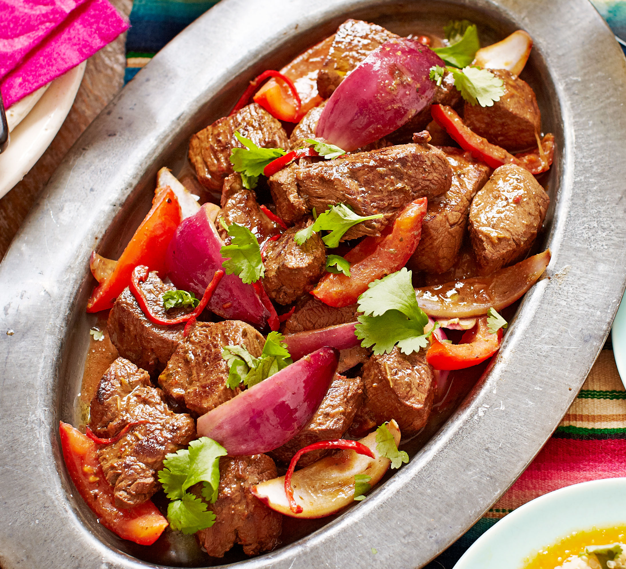 Lomo Saltado Beef Stir Fry Bbc Good Food Middle East