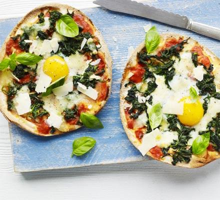 Cheap-as-chips veggie pizza