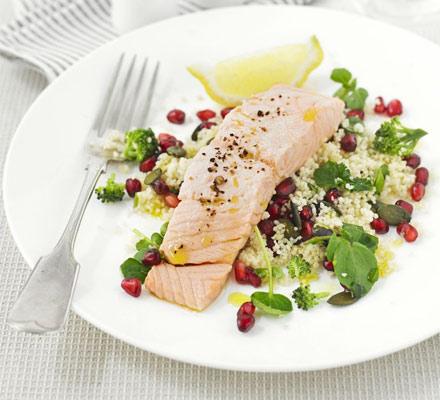 Superhealthy salmon salad