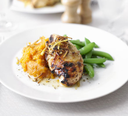 Ginger Lime Chicken With Sweet Potato Mash Bbc Good Food Middle East