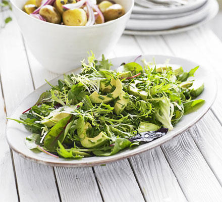 Green Salad With Avocado Bbc Good Food Middle East