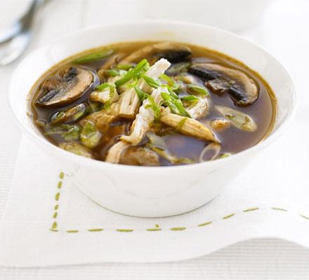 Thai chicken & mushroom broth