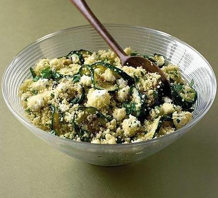 Tangy couscous salad