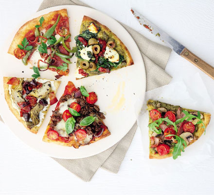 5 easy pizza toppings
