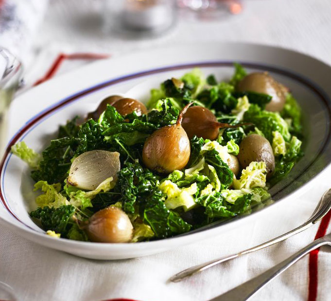 Savoy Cabbage With Shallots Fennel Seeds Bbc Good Food Middle East