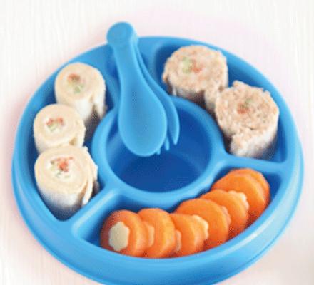 Labneh sushi rolls