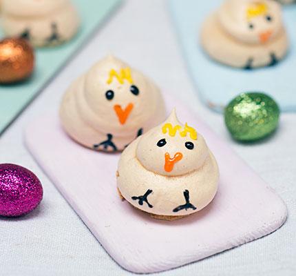 Lemony Easter chicks