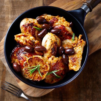 Arabian Chicken With Lemon And Olives Bbc Good Food Middle East