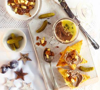 Christmas pate and terrine recipes