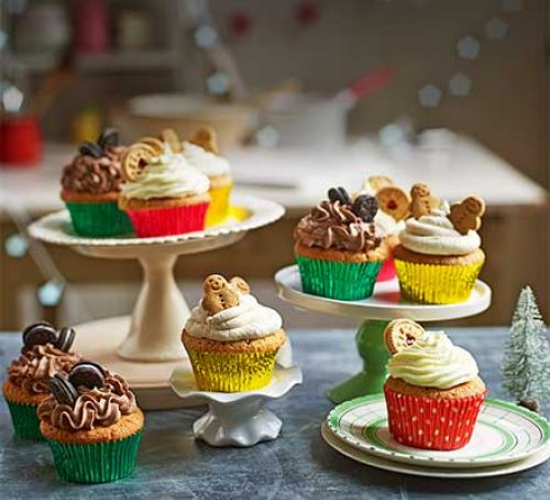 Christmas cupcake recipes