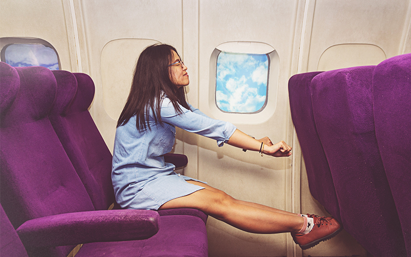Escaping the UAE this summer? Here's 5 ways to stay healthy during long haul flights