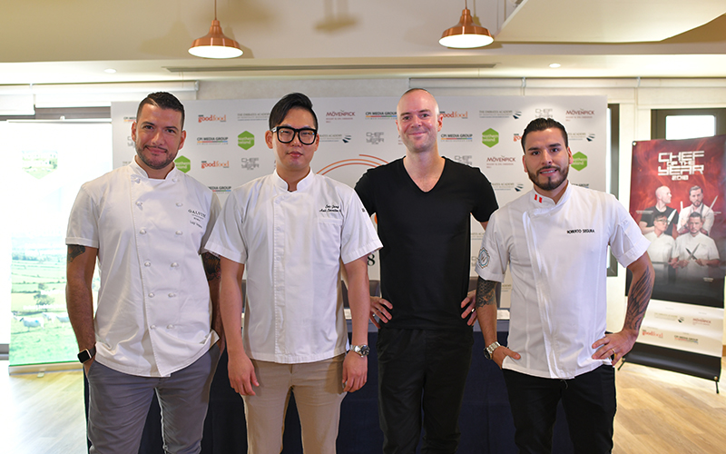 Dubai chefs battle it out in BBCGFME's Chef of the Year competition