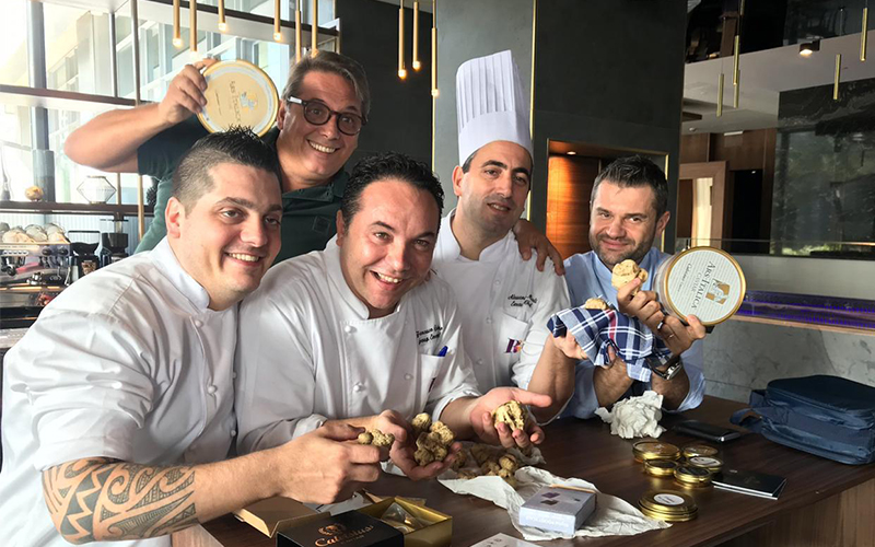 Dubai restaurant welcomes the largest white truffle to ever enter the UAE