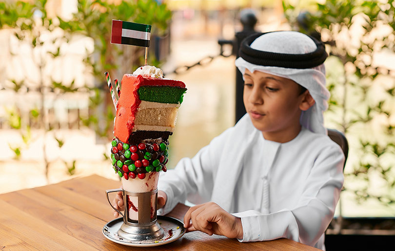 Where to get your hands on this crazy UAE National Day milkshake