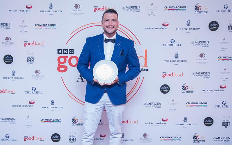 Galvin Dubai's Luigi Vespero wins BBCGFME Chef of the Year 2018