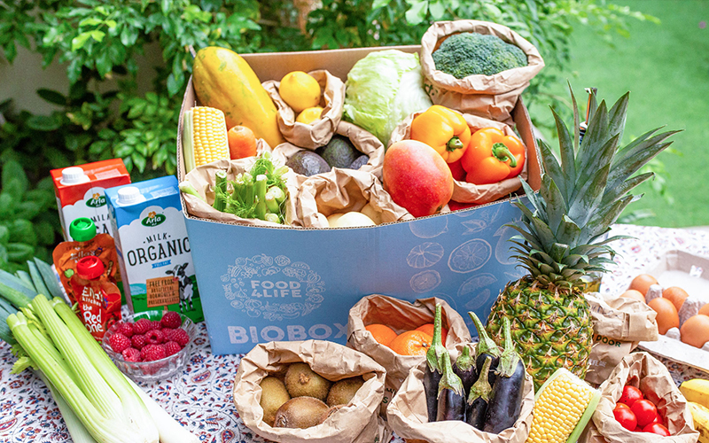 Get fresh, organic produce to your door with Food4Life