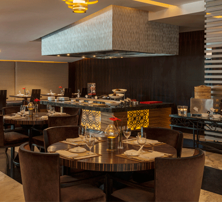 Creekside Japanese Restaurant, Sheraton Dubai Creek Hotel and Towers
