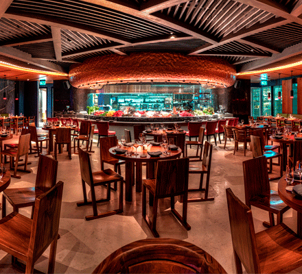 Novikov, Sheraton Grand Hotel, Dubai