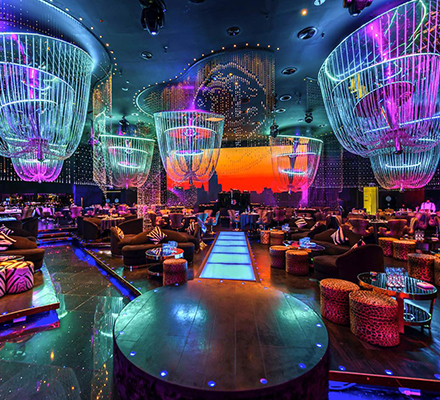 Cavalli Club Restaurant & Lounge, Fairmont Dubai