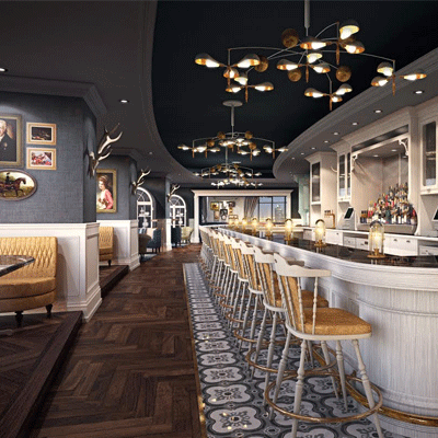 Weslodge Saloon, JW Marriott Marquis Hotel Dubai, Tower B