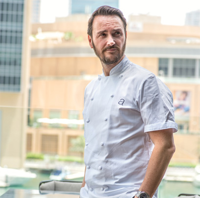 In the kitchen with Jason Atherton