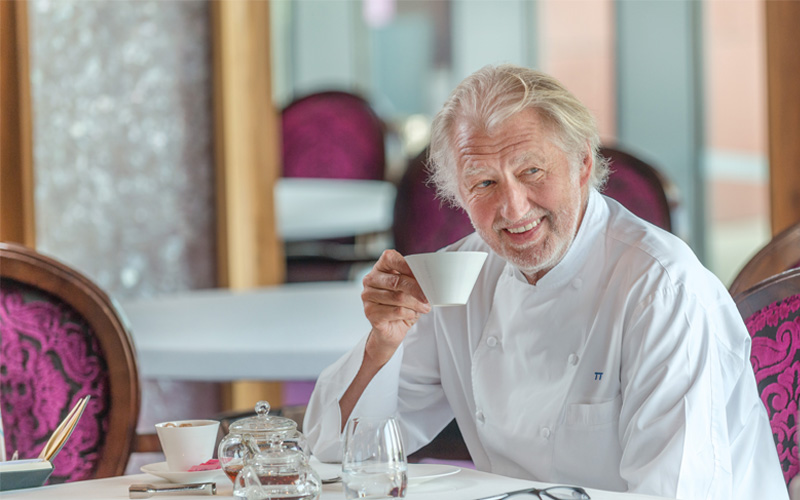 In the kitchen with… Pierre Gagnaire