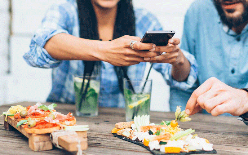 How Instagram is changing the way people eat