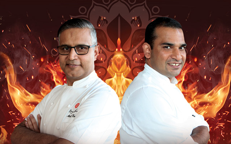 Celebrity battle of the chefs in Dubai
