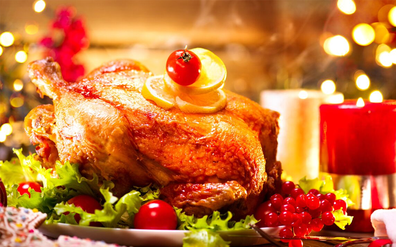 Delicious take-home turkey this Christmas in Dubai