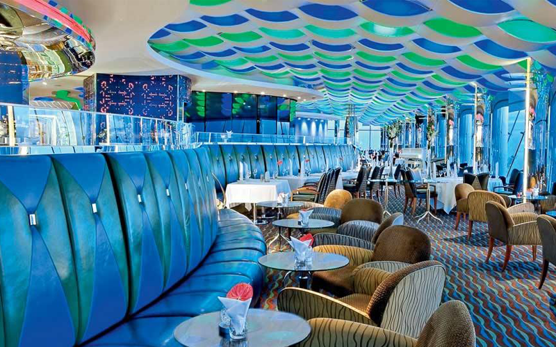 Afternoon tea: Skyview bar, Burj Al Arab